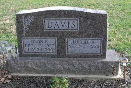 DAVIS, EDWIN B. - Delaware County, Ohio | EDWIN B. DAVIS - Ohio Gravestone Photos