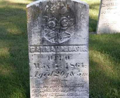 DAVIS, HANNAH M. - Delaware County, Ohio | HANNAH M. DAVIS - Ohio Gravestone Photos