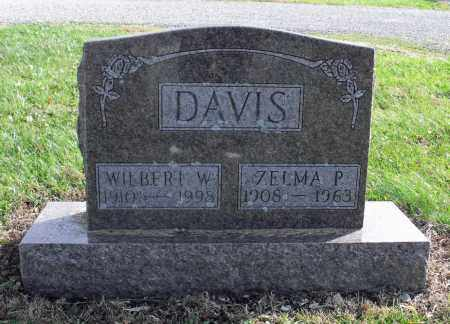 DAVIS, ZELMA P. - Delaware County, Ohio | ZELMA P. DAVIS - Ohio Gravestone Photos