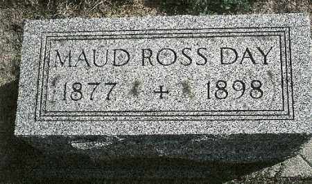 DAY, MAUD - Delaware County, Ohio | MAUD DAY - Ohio Gravestone Photos