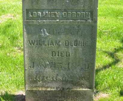 OSBORN DEDRICK, LORANEY - Delaware County, Ohio | LORANEY OSBORN DEDRICK - Ohio Gravestone Photos