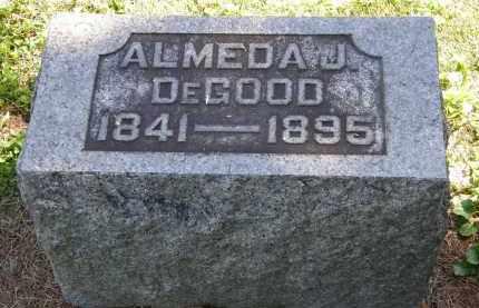 DEGOOD, ALMEDA J. - Delaware County, Ohio | ALMEDA J. DEGOOD - Ohio Gravestone Photos