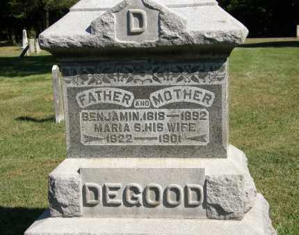 DEGOOD, BENJAMIN - Delaware County, Ohio | BENJAMIN DEGOOD - Ohio Gravestone Photos