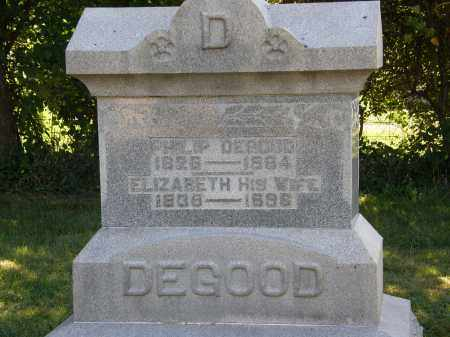 DEGOOD, PHILIP - Delaware County, Ohio | PHILIP DEGOOD - Ohio Gravestone Photos