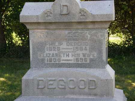 DEGOOD, ELIZABETH - Delaware County, Ohio | ELIZABETH DEGOOD - Ohio Gravestone Photos