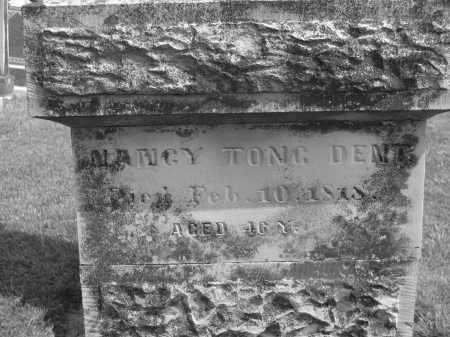 TONG DENT, NANCY - Delaware County, Ohio | NANCY TONG DENT - Ohio Gravestone Photos
