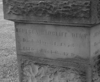 RADCLIFF DENT, REBECCA - Delaware County, Ohio | REBECCA RADCLIFF DENT - Ohio Gravestone Photos