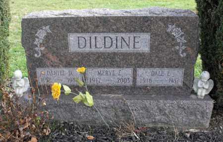 DILDINE, MERYL E. - Delaware County, Ohio | MERYL E. DILDINE - Ohio Gravestone Photos