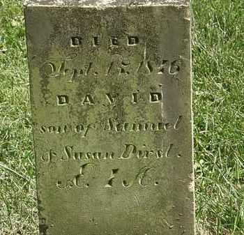 DIRST, DAVID - Delaware County, Ohio | DAVID DIRST - Ohio Gravestone Photos