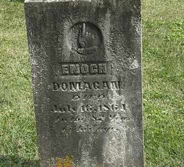 DOMIGAN, ENOCH - Delaware County, Ohio | ENOCH DOMIGAN - Ohio Gravestone Photos