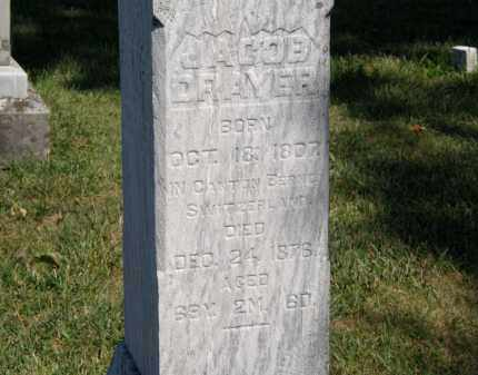 DRAYER, JACOB - Delaware County, Ohio | JACOB DRAYER - Ohio Gravestone Photos