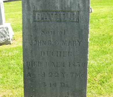 DUCHER, MARY - Delaware County, Ohio | MARY DUCHER - Ohio Gravestone Photos