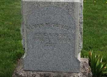 DUNCAN, ALVA B. - Delaware County, Ohio | ALVA B. DUNCAN - Ohio Gravestone Photos