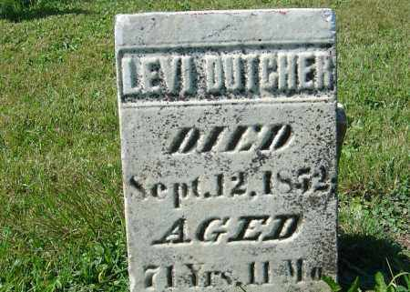 DUTCHER, LEVI - Delaware County, Ohio | LEVI DUTCHER - Ohio Gravestone Photos