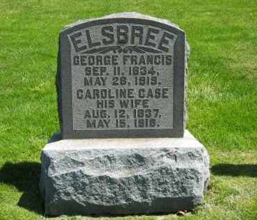ELSBREE, CAROLINE - Delaware County, Ohio | CAROLINE ELSBREE - Ohio Gravestone Photos