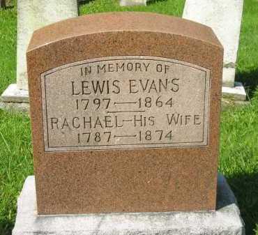 EVANS, LEWIS - Delaware County, Ohio | LEWIS EVANS - Ohio Gravestone Photos
