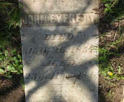 EVERETT, JOHN - Delaware County, Ohio | JOHN EVERETT - Ohio Gravestone Photos