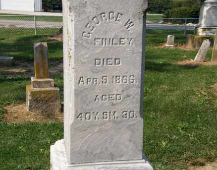 FINLEY, GEORGE W. - Delaware County, Ohio | GEORGE W. FINLEY - Ohio Gravestone Photos