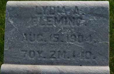 FLEMING, LYDIA A. - Delaware County, Ohio | LYDIA A. FLEMING - Ohio Gravestone Photos