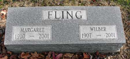 FLING, WILBER - Delaware County, Ohio | WILBER FLING - Ohio Gravestone Photos