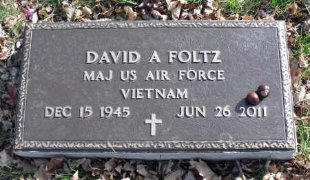 FOLTZ, DAVID A. - Delaware County, Ohio | DAVID A. FOLTZ - Ohio Gravestone Photos