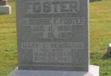 REMINGTON FOSTER, MARY F. - Delaware County, Ohio | MARY F. REMINGTON FOSTER - Ohio Gravestone Photos
