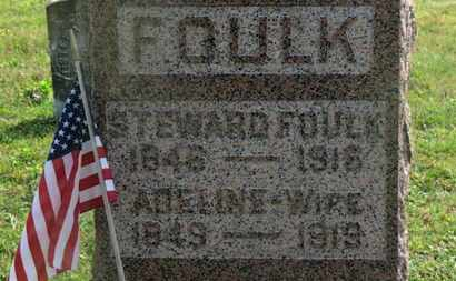 FOULK, STEWARD - Delaware County, Ohio | STEWARD FOULK - Ohio Gravestone Photos
