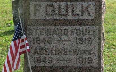 FOULK, ADELINE - Delaware County, Ohio | ADELINE FOULK - Ohio Gravestone Photos