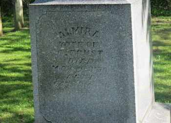 FOUST, ALMIRA - Delaware County, Ohio | ALMIRA FOUST - Ohio Gravestone Photos