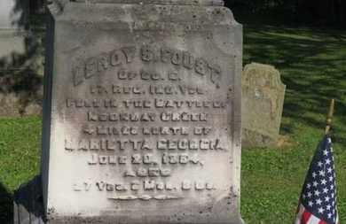 FOUST, LEROY S. - Delaware County, Ohio | LEROY S. FOUST - Ohio Gravestone Photos