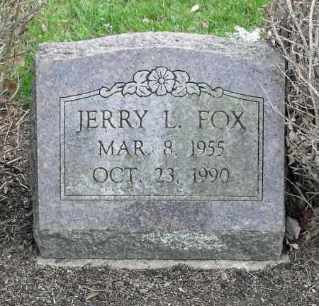 FOX, JERRY LEE - Delaware County, Ohio | JERRY LEE FOX - Ohio Gravestone Photos