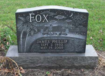 FOX, JAMES PHILLIP - Delaware County, Ohio | JAMES PHILLIP FOX - Ohio Gravestone Photos
