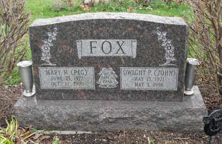 FOX, DWIGHT P. - Delaware County, Ohio | DWIGHT P. FOX - Ohio Gravestone Photos