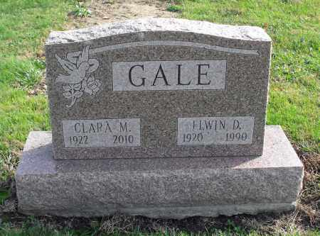 GALE, CLARA M. - Delaware County, Ohio | CLARA M. GALE - Ohio Gravestone Photos