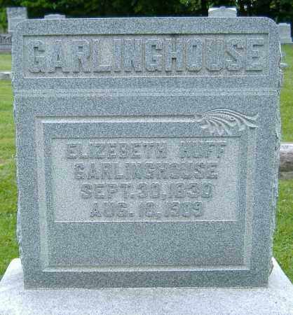 HUFF GARLINGHOUSE, ELIZABETH - Delaware County, Ohio | ELIZABETH HUFF GARLINGHOUSE - Ohio Gravestone Photos
