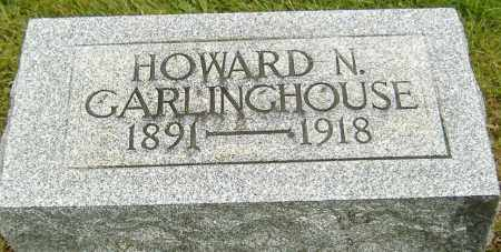 GARLINGHOUSE, HOWARD N. - Delaware County, Ohio | HOWARD N. GARLINGHOUSE - Ohio Gravestone Photos