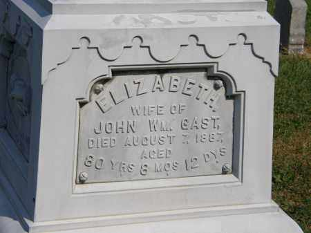 GAST, JOHN WM. - Delaware County, Ohio | JOHN WM. GAST - Ohio Gravestone Photos