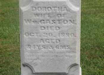 GASTON, DOROTHA - Delaware County, Ohio | DOROTHA GASTON - Ohio Gravestone Photos
