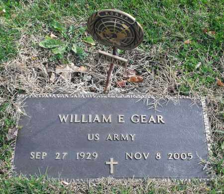 GEAR, WILLIAM E. - Delaware County, Ohio | WILLIAM E. GEAR - Ohio Gravestone Photos