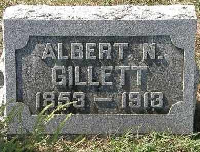 GILLETT, ALBERT N. - Delaware County, Ohio | ALBERT N. GILLETT - Ohio Gravestone Photos