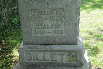 GILLETT, ELIZABETH - Delaware County, Ohio | ELIZABETH GILLETT - Ohio Gravestone Photos