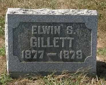 GILLETT, ELWIN S. - Delaware County, Ohio | ELWIN S. GILLETT - Ohio Gravestone Photos