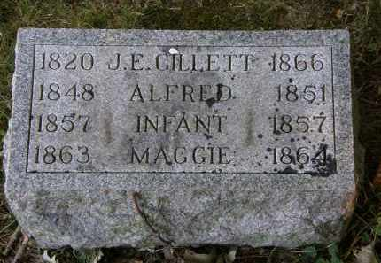 GILLETT, ALFRED - Delaware County, Ohio | ALFRED GILLETT - Ohio Gravestone Photos