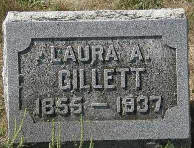 GILLETT, LAURA A. - Delaware County, Ohio | LAURA A. GILLETT - Ohio Gravestone Photos