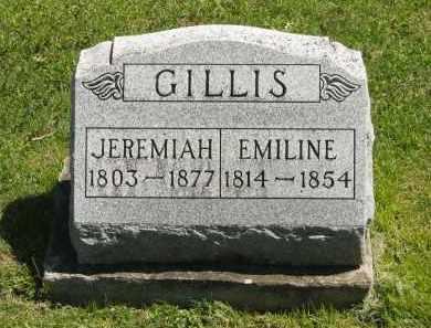 GILLIS, JEREMIAH - Delaware County, Ohio | JEREMIAH GILLIS - Ohio Gravestone Photos