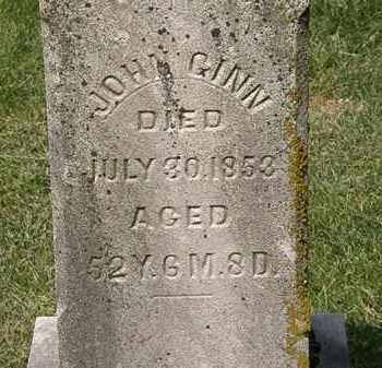 GINN, JOHN - Delaware County, Ohio | JOHN GINN - Ohio Gravestone Photos