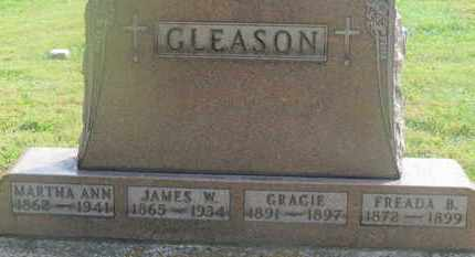 GLEASON, JAMES W. - Delaware County, Ohio | JAMES W. GLEASON - Ohio Gravestone Photos