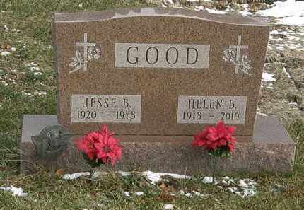 GOOD, JESSE BENNET - Delaware County, Ohio | JESSE BENNET GOOD - Ohio Gravestone Photos