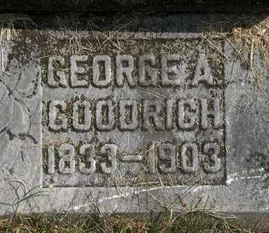 GOODRICH, GEORGE A. - Delaware County, Ohio | GEORGE A. GOODRICH - Ohio Gravestone Photos