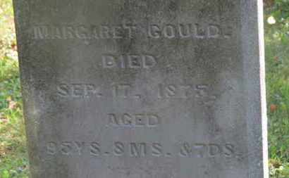GOULD, MARGARET - Delaware County, Ohio | MARGARET GOULD - Ohio Gravestone Photos